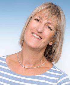 Porträit Osteopathin Brigitte Fink