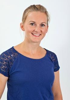 Physiotherapeutin Diana Laab Porträit